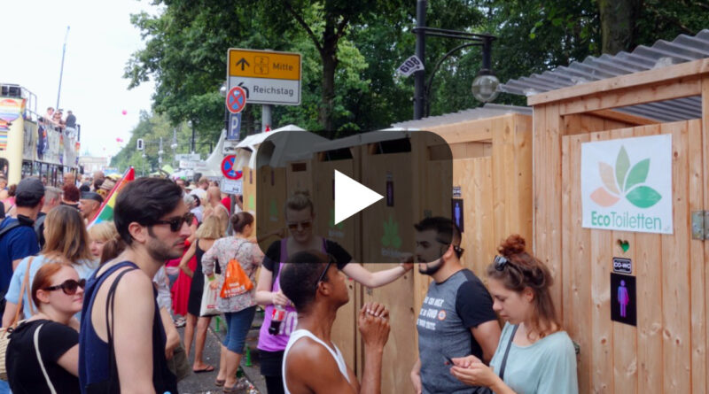 CSD Berlin 2016 for the first time with CO-WC