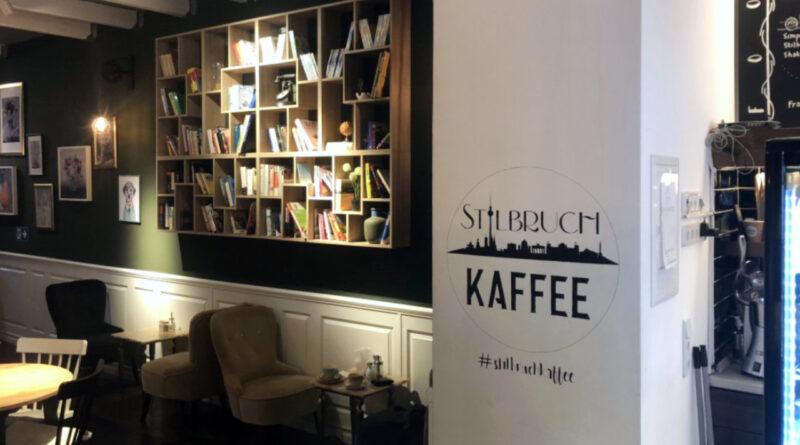 Interior view of Kaffee Stilbruch in Berlin-Friedrichshain, Germany.