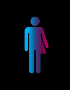 All-gender restroom symbol